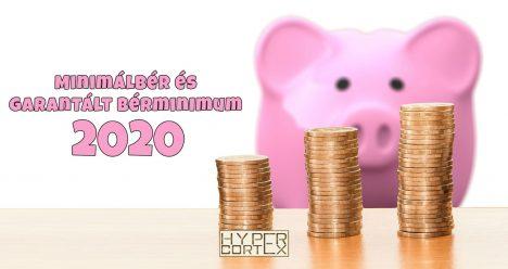 Minimálbér és garantált bérminimum 2020